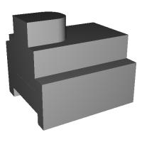 フライス盤2級 技能検定研究用3Dモデル教材
