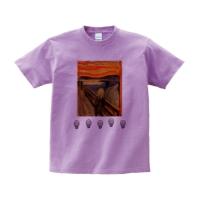 ヘビーウェイトTシャツ L ライトパープル
