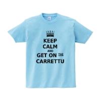 get on carrettuシャツ (ライトブルー・M)