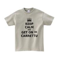 get on carrettuシャツ (シルバーグレー・M)