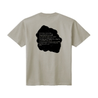patri nostruシャツ (シルバーグレー背面・M)