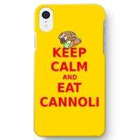 keep calm and eat cannoliケース (iPhone XR)