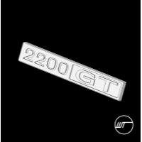 GC10 スカイライン後期用 カスタムコンソールエンブレム 2200GT