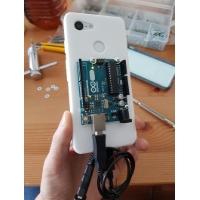 Arduino UNOを搭載できるPixel 3ケース