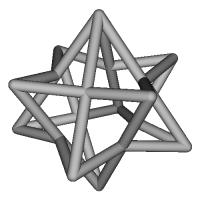 星型(四角)チャーム
