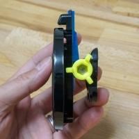 GoProアタッチメントに折り畳みドリンクホルダー付けるやつ