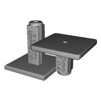 ドリルガイド/径2.5mm用/長30mm+20mm/ver.1.0.4.stl