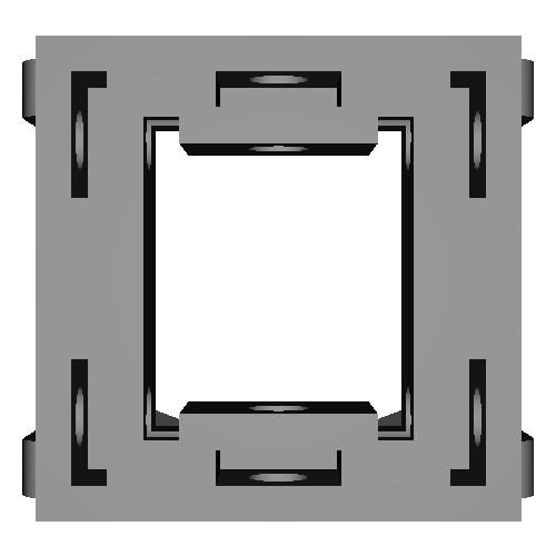 SAXduino-スピーカーフレーム