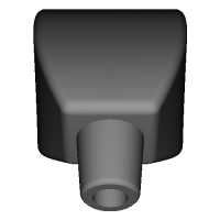 SAXduino-吹き口