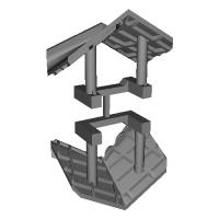 アルモデル アルナインEL・DL用 除雪板