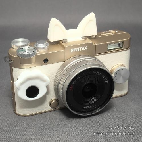 PENTAX Q-S1グリップ用ドレスアップパーツ (猫) [MRO-DS-QS1-CH]
