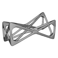diagonal(Chopsticks rest)〜「不安定さ」をテーマにした箸置き〜