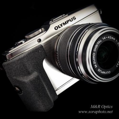 OLYMPUS E-P3用大型グリップ [MRO-GP-EP3-01]