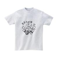 【ぴぃす堂】レンズ沼 Tシャツ モノクロ版(Mサイズ アッシュ)