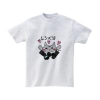 【ぴぃす堂】レンズ沼 Tシャツ(Mサイズ アッシュ カラー版)