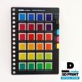 素材サンプル 素材サンプル 半透明カラーチャート VE-CvMvYv-002B