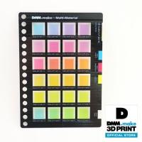 素材サンプル 半透明カラーチャート VE-CvMvYvT-001B