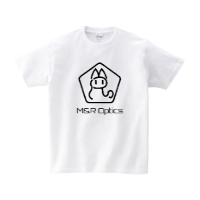 【M&R Optics】M&R Optics Tシャツ(Mサイズ ホワイト)【ぴぃす堂】