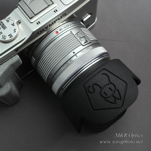 M.Zuiko D. 14-42mm II R 用花型フード [MRO-LH-FMZD-01]