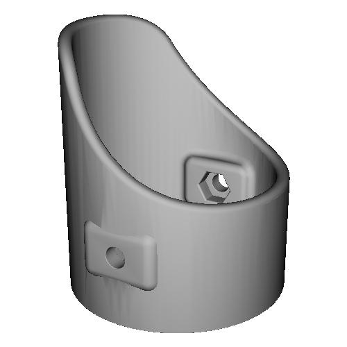 003TURBO用LEDバルブ対応ライトカバー