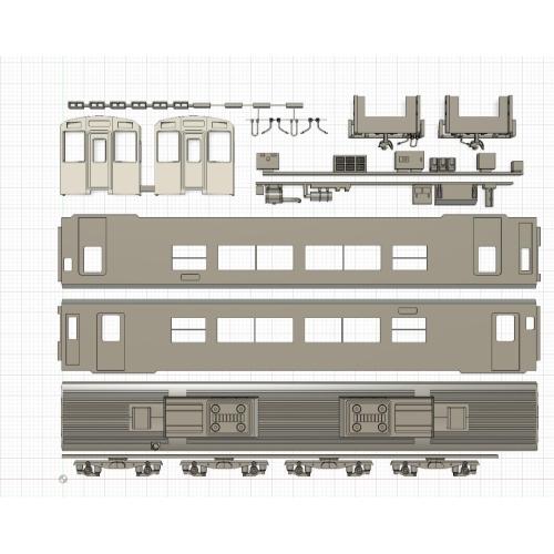 長崎ローカル MR600 板キット Nゲージ