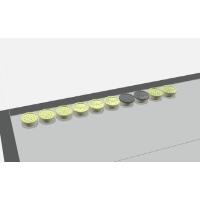 複合材ソフトリム#2 スーパーロープロファイル トラックポイントキャップ (ver.16A)