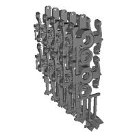 【T-TRUCK】TR211 5両分10セット カプラー付き V1.0