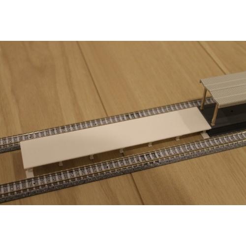 Nゲージ 島式ホーム端・近代形(174mm)
