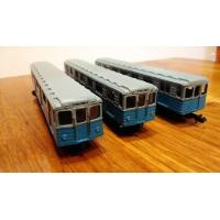 ロシア(ソ連)の地下鉄 鉄道模型(Nゲージ)基本4両セット