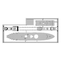 1/2000 エレバス級モニター艦 1隻