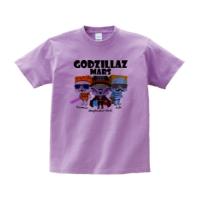 GODZILLAZ-MARS Tシャツ L サイズ ライトパープル