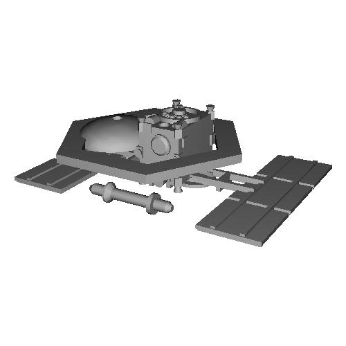 JAXA ハヤブサ2 1/100モデル