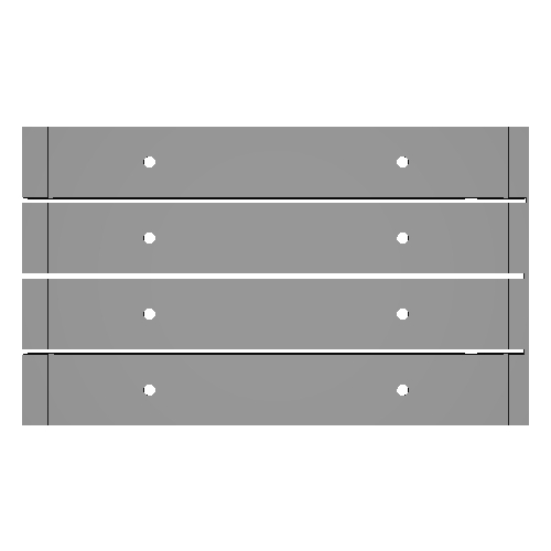 SwitchのオリジナルJoyConグリップが作れるpongmiruレール4本セット