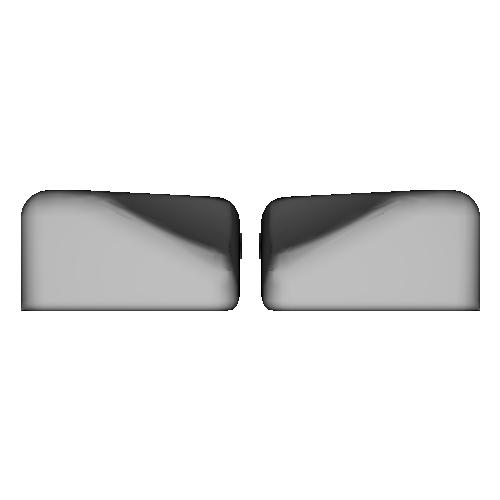 薙刀式3Dキーキャップ【MX】【標準ピッチ】【バラ】親指6個