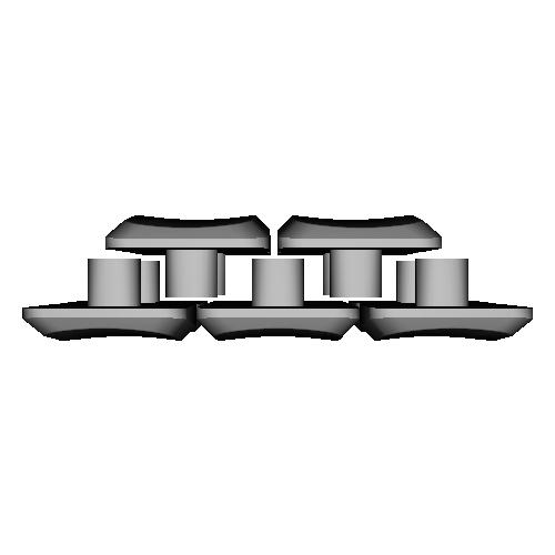 薙刀式3Dキーキャップ【MX】【標準ピッチ】【バラ】坂10個