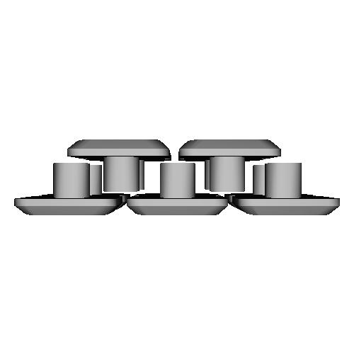 薙刀式3Dキーキャップ【MX】【狭ピッチ16mm用】【バラ】平10個