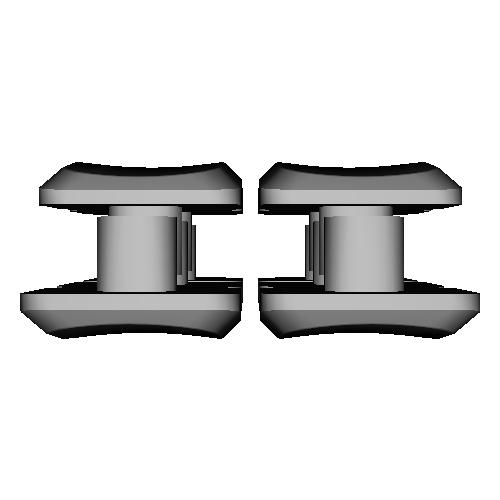 薙刀式3Dキーキャップ【MX】【狭ピッチ16mm用】【バラ】坂10個