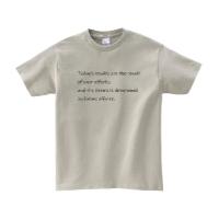 ヘビーウェイトTシャツ L シルバーグレー
