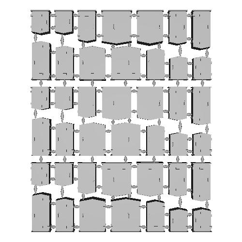 Nゲージ信号機・踏切用継電箱(キュービクル)ダミー6種アソート42個入り(改3)