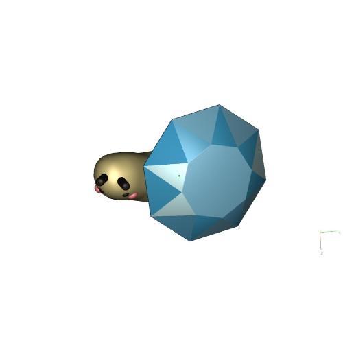 宝石つむり(小)