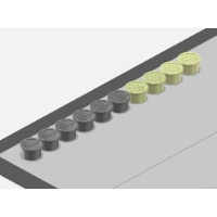 ソフトリム ロープロファイル トラックポイントキャップ (ver. L7) 10個