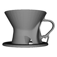 Generative Design Coffee Dripper S01_V1