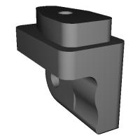 エルゴヒューマン プロ(Ergohuman pro)アームレスト可倒機能追加部品r-d