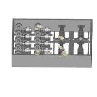 揚荷機x10基 パラベーン(防雷具)低速船用x4基セット