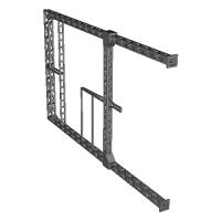 Nゲージ 門型架線柱