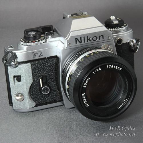 Nikon FG グリップ自作用ベース部品 [MRO-GP-NFGU-01]