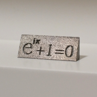 オイラーの公式オブジェ 理系男子へのプレゼントに最適 数学 数式