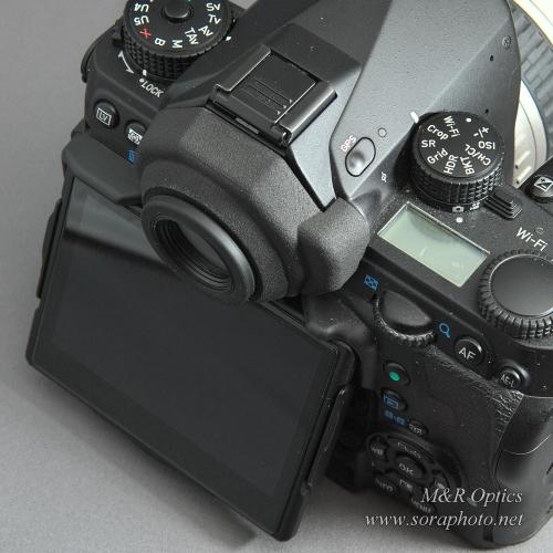 K-1用アイピースアダプター(DK-17/A/F用・カバー付) [MRO-AA-K1C-01]