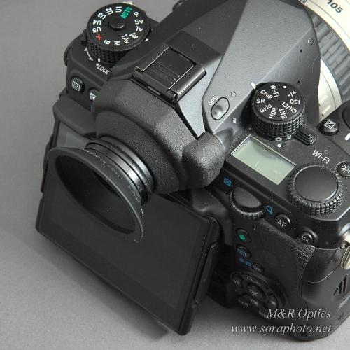 K-1用アイピースアダプター(DK-17M専用・カバー付) [MRO-AA-K1MC-01]