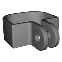 Gopro mount For Vmate v1
